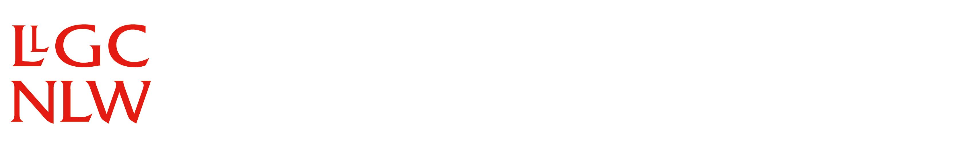Logo Llyfrgell Genedlaethol Cymru